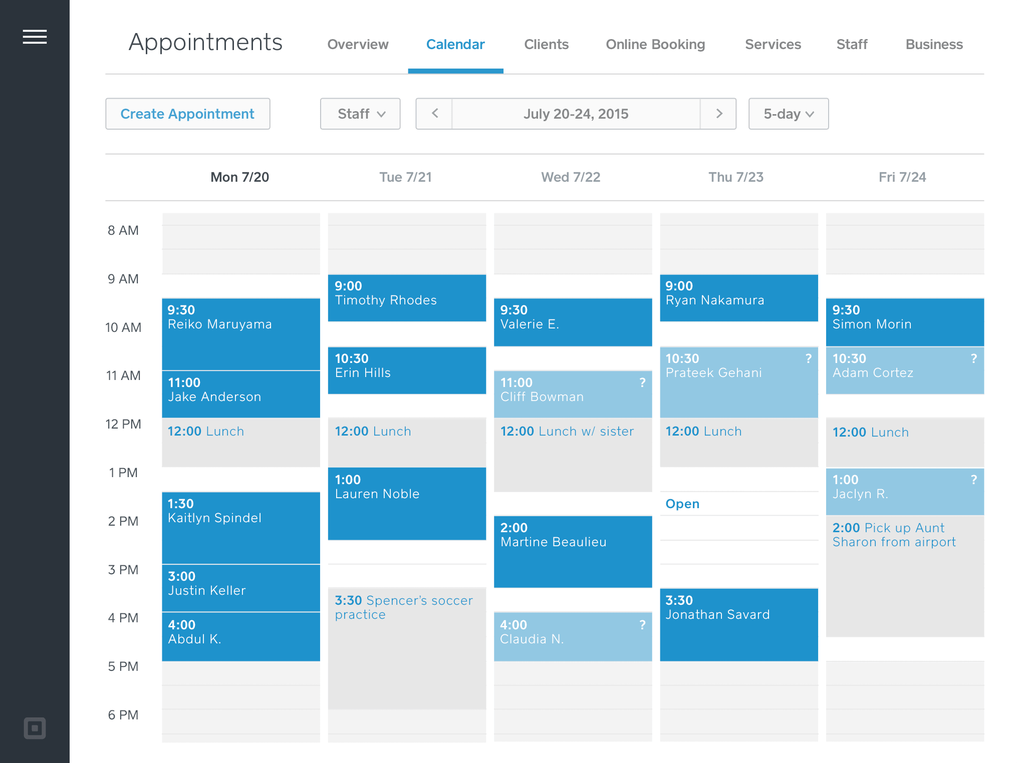 online appointment calendar free