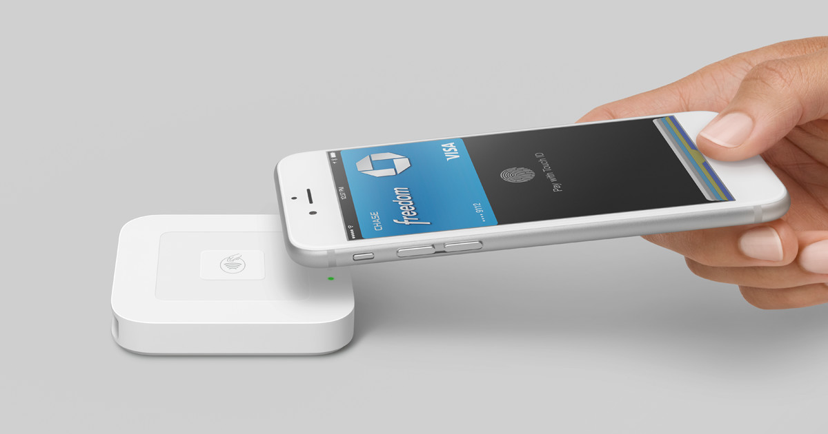 Nfc Reader For Apple Pay Contactless Amp Chip Square